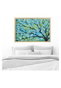 Quadro Love Decor Com Moldura Árvore Painted Madeira Clara Grande