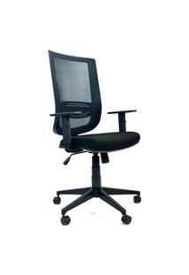 Cadeira Office Gerente Byartdesign Staff Preto
