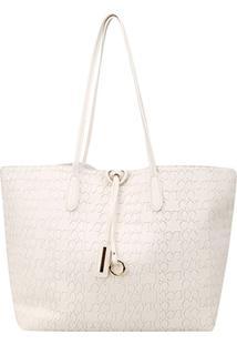 Bolsa Colcci Tote Shopper Feminina - Feminino-Off White