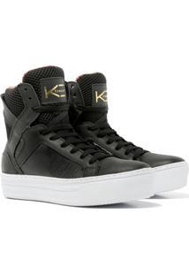 Sneaker K3 Fitness Easy Preto - Preto - Feminino - Dafiti