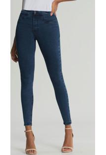 Calça Skinny Fit For Me Eco Azul