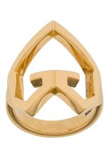 Givenchy Anel 'Heart' - Dourado