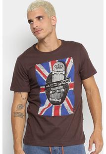 Camiseta New Skate England Masculina - Masculino