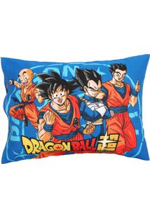 Fronha Avulsa Lepper Dupla-Face Dragon Ball 50 Cm X 70 Cm