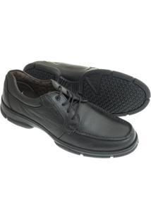 Sapato Sândalo Confort Kairo Masculino - Masculino-Preto