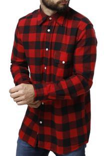 Camisa Manga Longa Vilejack Masculina - Masculino