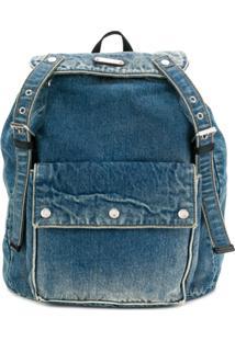 Saint Laurent Noe Backpack - Azul