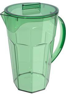Jarra Drink Em Poliestireno 1,8 Litros Verde Menta