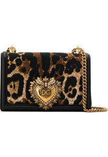 Dolce & Gabbana Bolsa Tiracolo Devotion - Preto