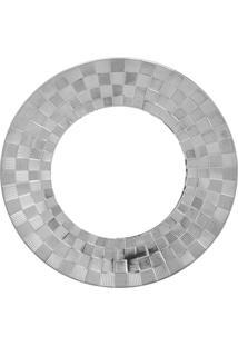 Conjunto 6 Pratos Rasos De Porcelana Super White Wolff 27X3Cm – Vera Silver