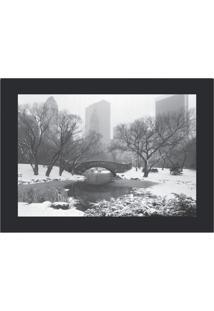Quadro Decorativo Central Park - Preto & Branco - 39Kapos