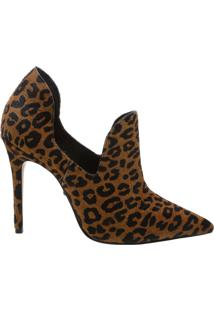 Ankle Boot Cut Out Wild Leopard | Schutz