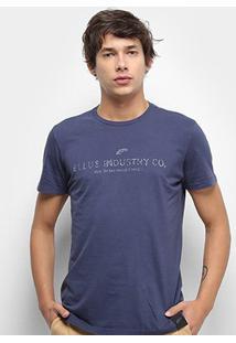 Camiseta Ellus Basic Masculina - Masculino-Marinho