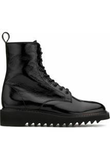 Giuseppe Zanotti Ankle Boot New York Com Brilho - Preto
