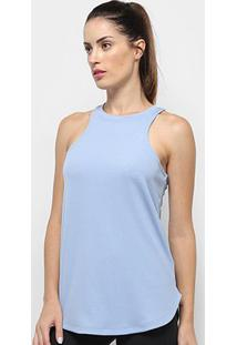 Regata Nike Dry Studio Tank Feminina - Feminino-Azul+Preto