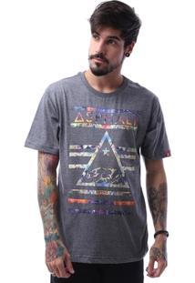 Camiseta Asphalt California Bear Delta Masculina - Masculino