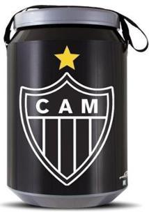 Cooler Térmico 24 Latas Oficial Atlético Mineiro Pro Tork - Unissex-Preto