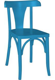 Cadeira De Jantar Felice Azul