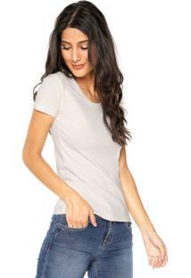 Camiseta Polo Wear Slim Bege - Kanui
