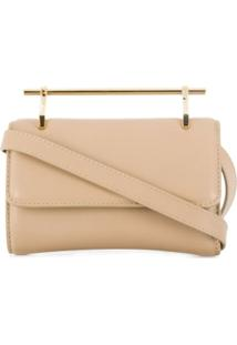 M2Malletier Clutch Metalizada - Neutro