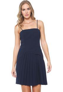 07c04a0cd Vestido Azul Marinho Carmim feminino | Gostei e agora?