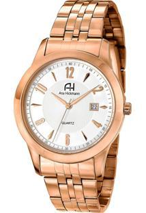 Relógio Ana Hickmann Ah28768Z Dourado Rose