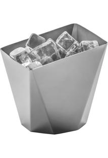 Balde Para Gelo Origami Inox - Riva