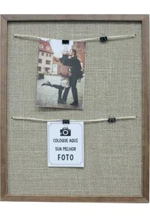 Porta-Retrato Para 4 Fotos Milão Varal Ii Colorido