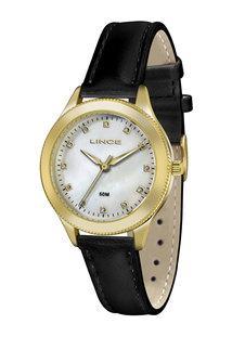 Relógio Feminino Strass Lince Lrc4395L B1Px