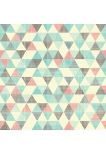Papel De Parede Adesivo Triângulos Riscados (0,58M X 2,50M)