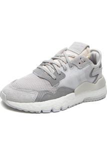 Tênis Adidas Originals Nite Jogger W Cinza