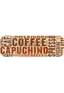 Passadeira Capuchino Multicolorido Creme - Kanui