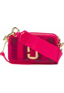 Marc Jacobs Bolsa Transversal Translúcida - Rosa
