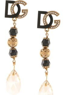 Dolce & Gabbana Par De Brincos D&G - Preto