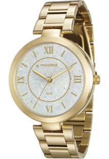 32bb58602d9 ... Relógio Feminino Mondaine 76615Lpmvde1 Pulseira Aço - Feminino-Dourado