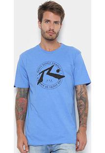 Camiseta Rusty Silk Algarve Masculina - Masculino