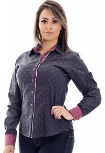 Camisa Pimenta Rosada Maya - Feminino