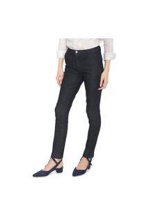 Calça Jeans Lacoste Chino Lisa Azul-Marinho