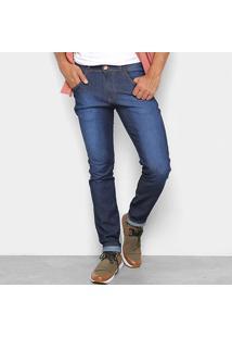 Calça Jeans Coffee Skinny Destroyed Masculina - Masculino