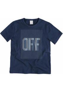 Camiseta Infantil Hering Kids 5Ckjamsen - Masculino-Marinho