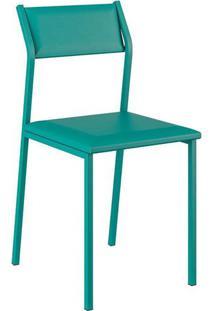 Cadeiras Carraro Móveis Betim Em Napa - Turquesa