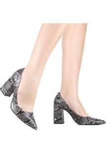 Sapato Cecconello Scarpin Onca