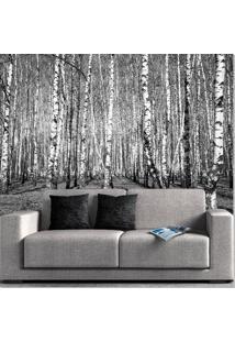 Painel Adesivo Árvores Secas