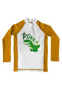 Camiseta De Lycra Comfy Roar Amarela