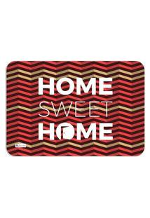 Tapete Decorativo Geométrico Colorido Home Sweet Home 40X60Cm