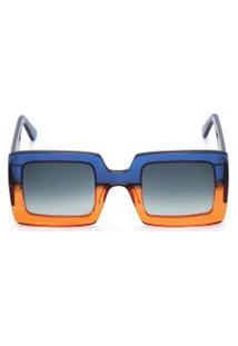Óculos De Sol Feminino G1 - Azul