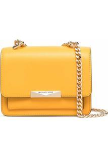 Michael Michael Kors Jade Extra-Small Crossbody Bag - Amarelo