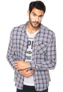 Camisa Sommer Straight Basic Bolso Xadrez