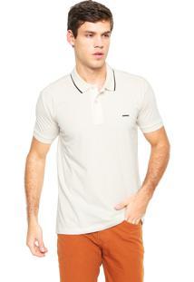 Camisa Polo Sommer Básica Off-White