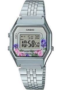 Relógio Casio Vintage Digital La680Wa-4Cdf-Br Feminino - Feminino